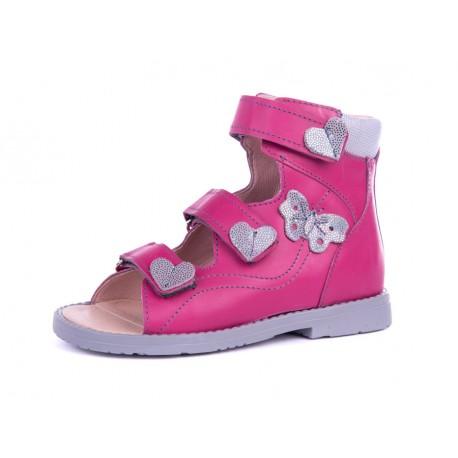 Sandały dziewczęce profilaktyczne 951 RCSZ