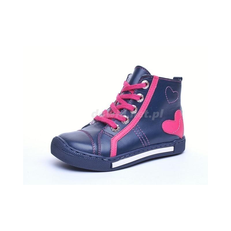 Dawid 1108 GRC 08 buty skórzane dla dzieci prawidłowy rozwój stopy