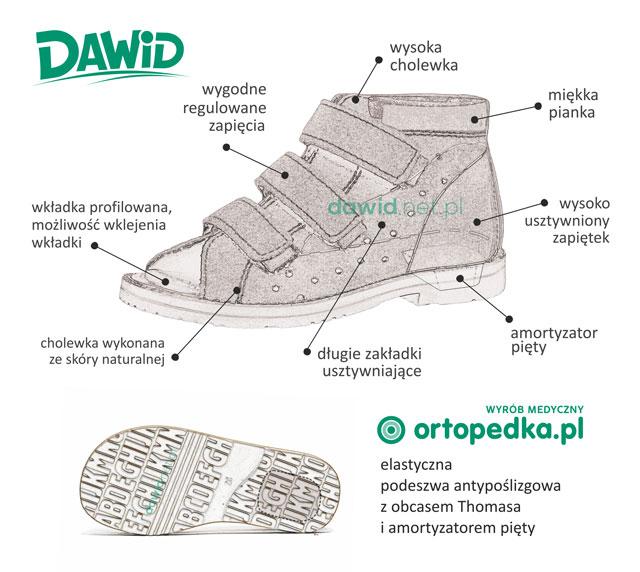 Buty profilaktyczne dawid 1042 - opis