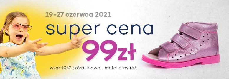 sandały profilaktyczne 1042-90 - super cena 99zł