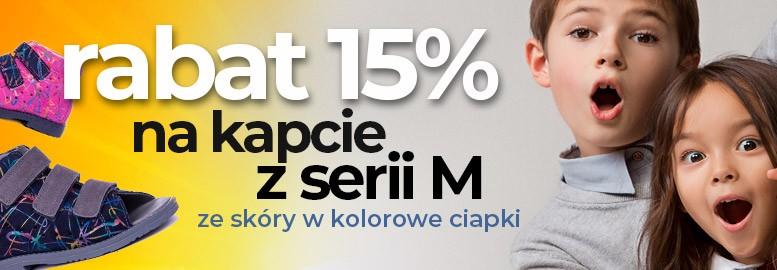 rabat 15% na kapcie profilaktyczne z serii M