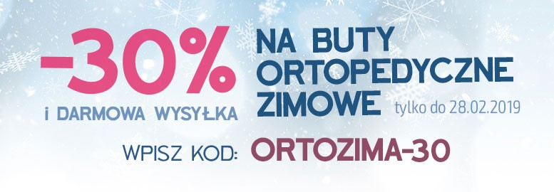 Ortopedyczne zimowe - 30%